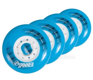Kółka do rolek Powerslide Spinner 80mm/85A (4 szt.)