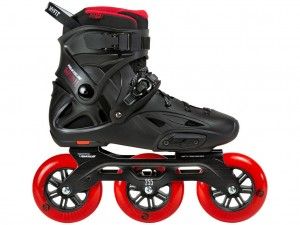 Rolki Freeride Powerslide Imperial Black Red 110